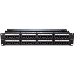 D-Link NPP-5E1BLK481 Cat5E UTP Keystone 48 Port Patch Panel